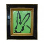 3592 untitled CS1099 2013 oil on wood 10by8 unframe 15.5by13.5 frame 150x150 Hunt Slonem <!  (Old) Bunnies [do not use]  >
