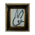 3599 untitled CS1114 2013 Oil on wood 10by8 unframe 13.5by11.25 frame 150x150 Hunt Slonem <!  (Old) Bunnies [do not use]  >