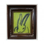 3600 untitled CS0667 2012 oil on wood 10by8 unframe 14by12 frame 150x150 Hunt Slonem <!  (Old) Bunnies [do not use]  >