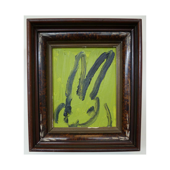 3600 untitled CS0667 2012 oil on wood 10by8 unframe 14by12 frame Hunt Slonem <!  (Old) Bunnies [do not use]  >