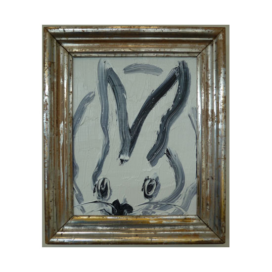 3604 untitled CS1112 2013 oil on wood 10by8 unframe 12.5by10.5 frame Hunt Slonem <!  (Old) Bunnies [do not use]  >