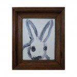 3625 untitled CS1077 2013 oil on wood 10by8 unframe 12.7by10.7 frame 150x150 Hunt Slonem <!  (Old) Bunnies [do not use]  >
