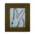 3626 untitled CS0583 2012 oil on wood 10by8 unframe 14.5by12.5 frame 150x150 Hunt Slonem <!  (Old) Bunnies [do not use]  >