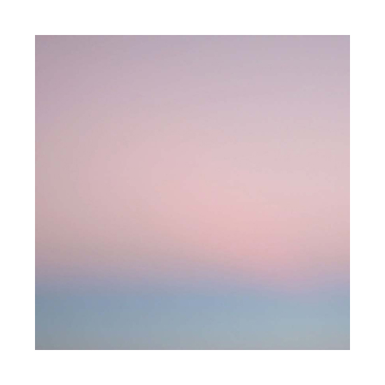 Evening bolinas 48x48 Miya Ando <!  Dyed Aluminum  >