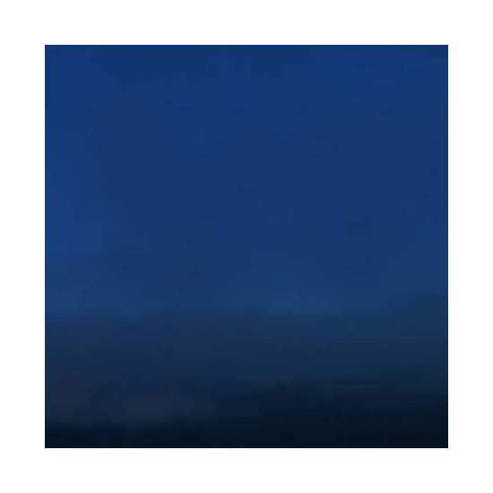 Evening pebble beach 24x24 Miya Ando <!  Dyed Aluminum  >