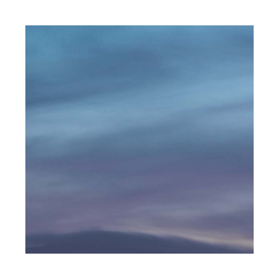 Evening south bay 36x36 Miya Ando <!  Dyed Aluminum  >