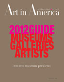 Art In America – Miya Ando 2012