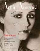 Art In America – James Verbicky 2012