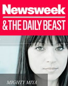 Newsweek & The Daily Beast – Miya Ando 2013