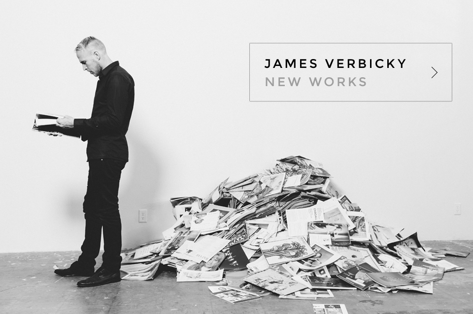 James Verbicky New Works HomePage