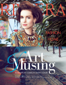 "Riviera Magazine ""Art & Musings"" Featuring Hunt Slonem"