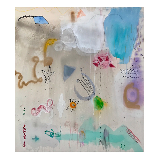 Sea 77x67.5 Jane Booth
