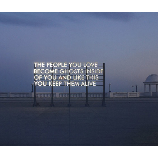 De La Warr Pavilion Installation Best One colour corrected WEB Robert Montgomery <!  Light Poems  >