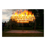 Great Fosters Fire Poem 39x28 copy 150x150 Robert Montgomery<!  Prints  >
