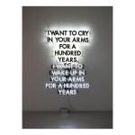 I WANT TO CRY IN YOUR ARMS BEST ONE corrected 150x150 Robert Montgomery <!  Light Poems  >