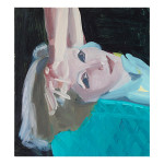 Movie Star 13.75 x 12.5 inches oil on panel 150x150 Shelley Adler