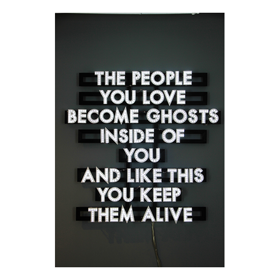People You Love Robert Montgomery <!  Light Poems  >