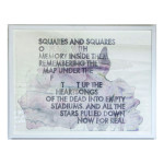 Poem for Ezra Pound and Kurt Cobain 22x30 copy 150x150 Robert Montgomery <!  Watercolors  >