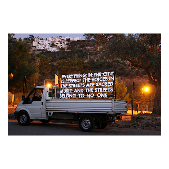 Poem for the City of Istanbul 20 x 28 Robert Montgomery<!  Prints  >