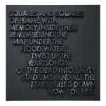 SQUARES AND SQUARES WOODCUT 150x150 Robert Montgomery <!  Woodcuts  >