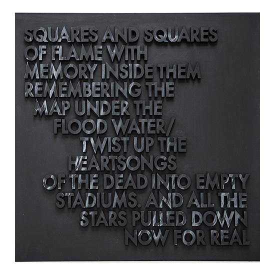 SQUARES AND SQUARES WOODCUT Robert Montgomery <!  Woodcuts  >