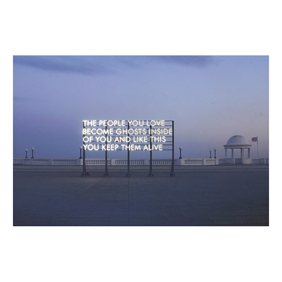 The People You Love large outdoor1 Robert Montgomery<!  Prints  >