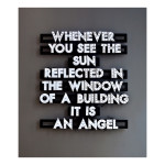 Whenever You See The Sun 65 x 63 150x150 Robert Montgomery <!  Light Poems  >