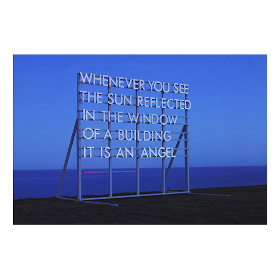 Whenever You See the Sun large outdoor1 Robert Montgomery<!  Prints  >