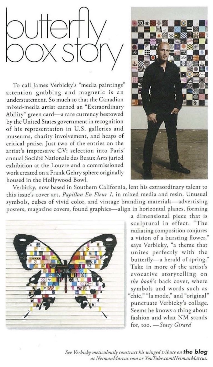 wauwethe bookmay 2014 Neiman Marcus  James Verbicky 2014 press misc press james verbicky press