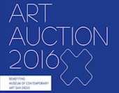 MCASD, Art Auction: 2016