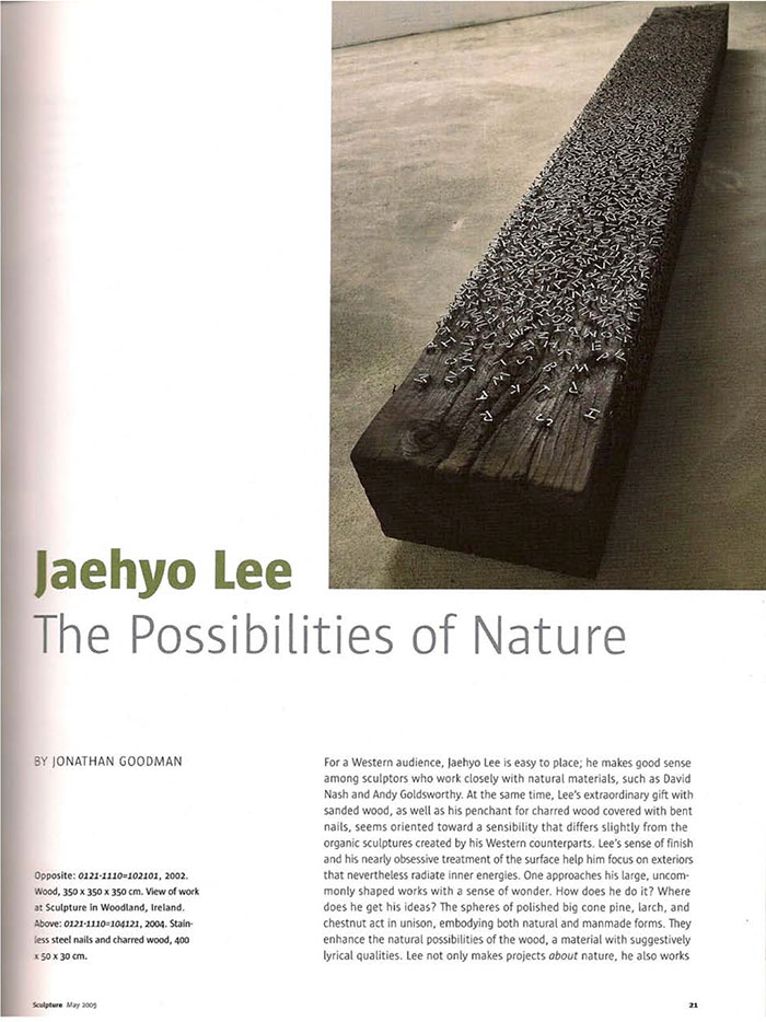 JHL Press 1 copy1 Sculpture Magazine   Jaehyo Lee, 2017 recent press press misc press jaehyo lee press