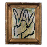 Mint EL00362 23 x 18.5 150x150 Hunt Slonem <!  Bunnies  >