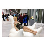 Lida The Swan at 55 Bway 150x150 Carole Feuerman<!  Installations  >