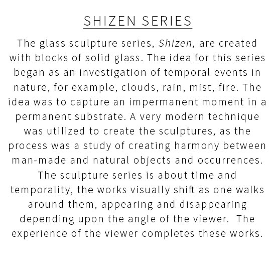 Glass Statement1 Miya Ando <!  Shizen Series  >