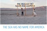 Robert Montgomery: The Sea has no Name for America