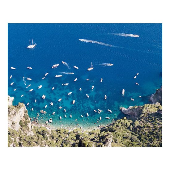 Yachts From Monte Solaro 47 x 59 Jonathan Smith