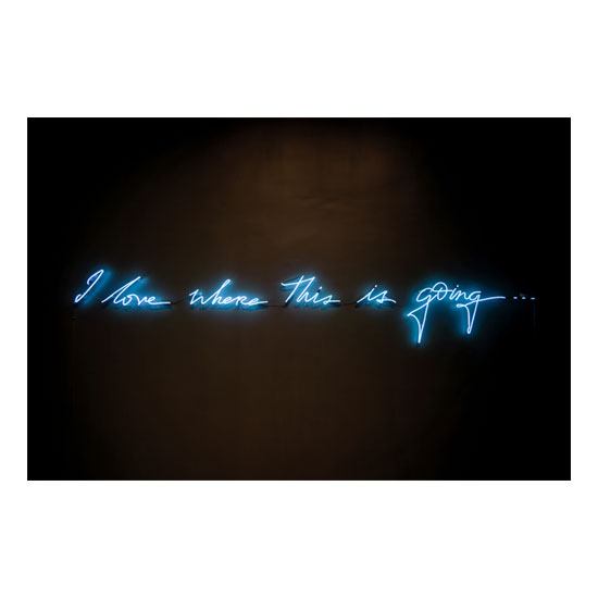 I Love Where This Is Going Blue 1 Olivia Steele<!  Neons  >
