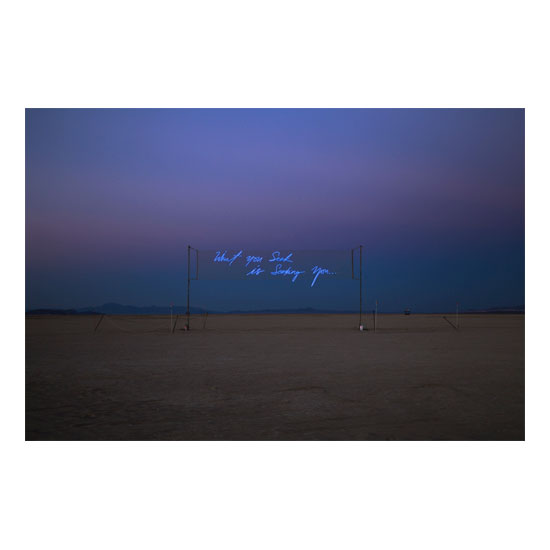 What You Seek Is Seeking You Dusk 1 Olivia Steele<!  Installations  >