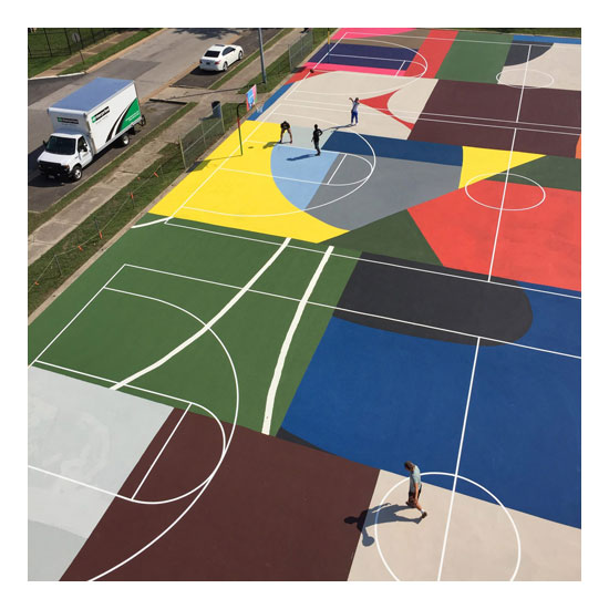 basketball courts william lachance dezeen 2364 sq2 1704x1704 William LaChance<!  installations  >