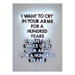 cry 150x150 Robert Montgomery <!  Light Poems  >