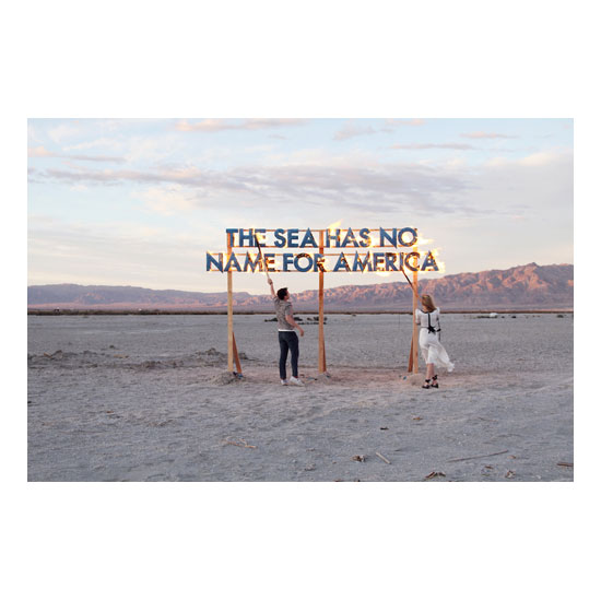 screen res Bombay Beach Fire Poem Robert Montgomery<!  Prints  >