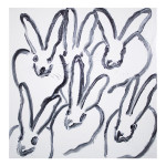 Hutch CER01032 30 x 30 150x150 Hunt Slonem <!  Bunnies  >