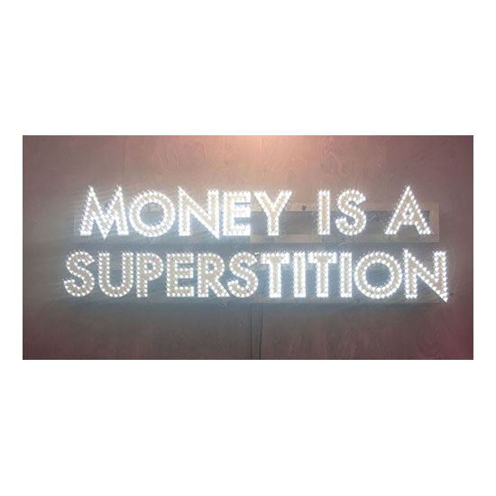 Money Is A Superstition Robert Montgomery <!  Light Poems  >