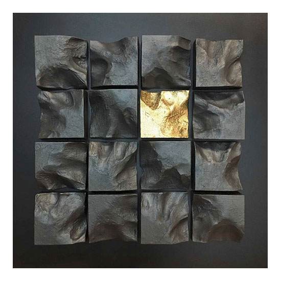 EXPANSION series Territories 70x70x10cm Mareo Rodriguez <!  Expansion  >