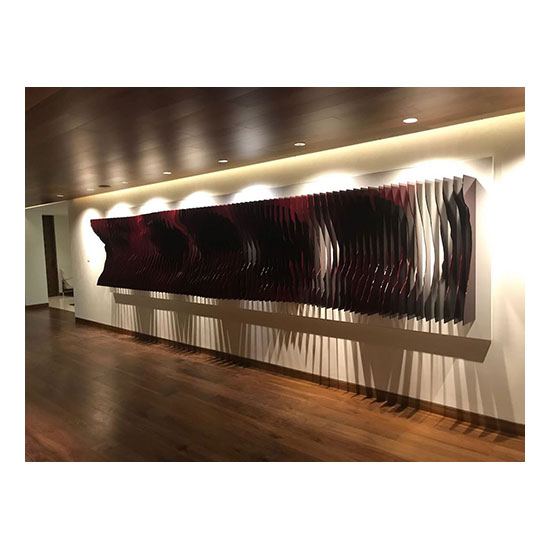 MAREO Frequencies 600x140cm 3 Mareo Rodriguez <!  Installations  >