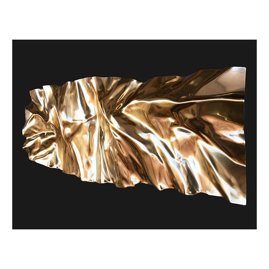 MANTLE Gold 160x60cm 63x24inches Mareo Rodriguez <!  Melt  >