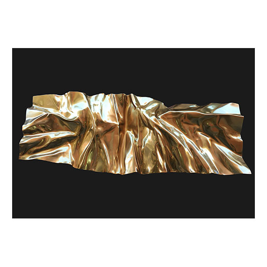 MANTLE Gold B 160x60cm 63x24inches Mareo Rodriguez <!  Melt  >