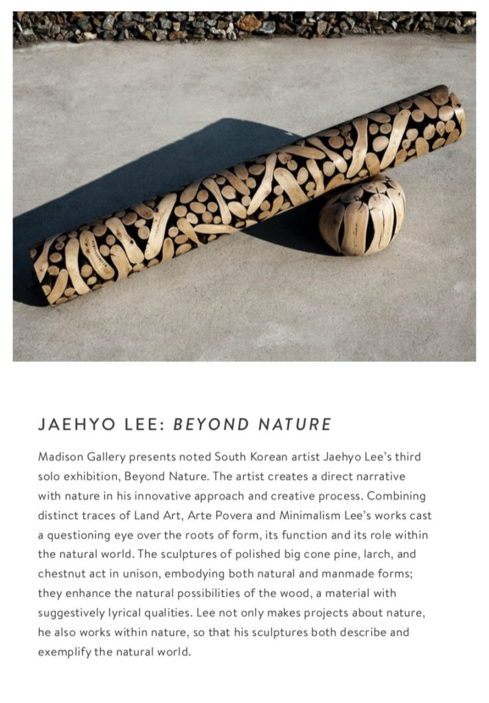 block 1  712x1024 Jaehyo Lee: Beyond Nature exhibitions past