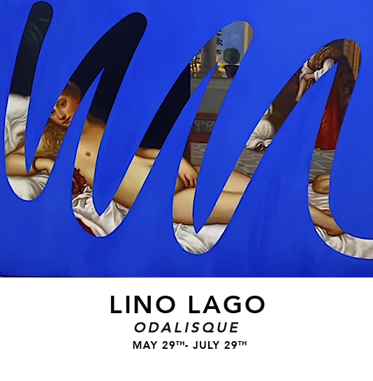 lino 4  Lino Lago : Odalisque exhibitions upcoming